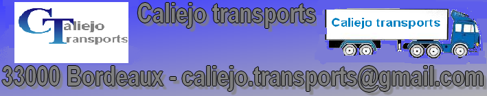 entreprise caliejo transport  Index du Forum