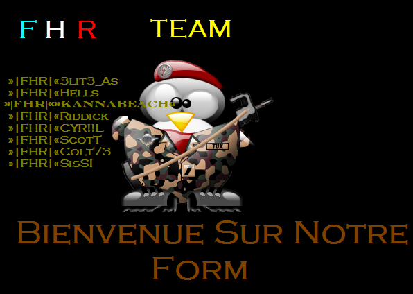 »|FHR|«Force Honneur Respect Index du Forum