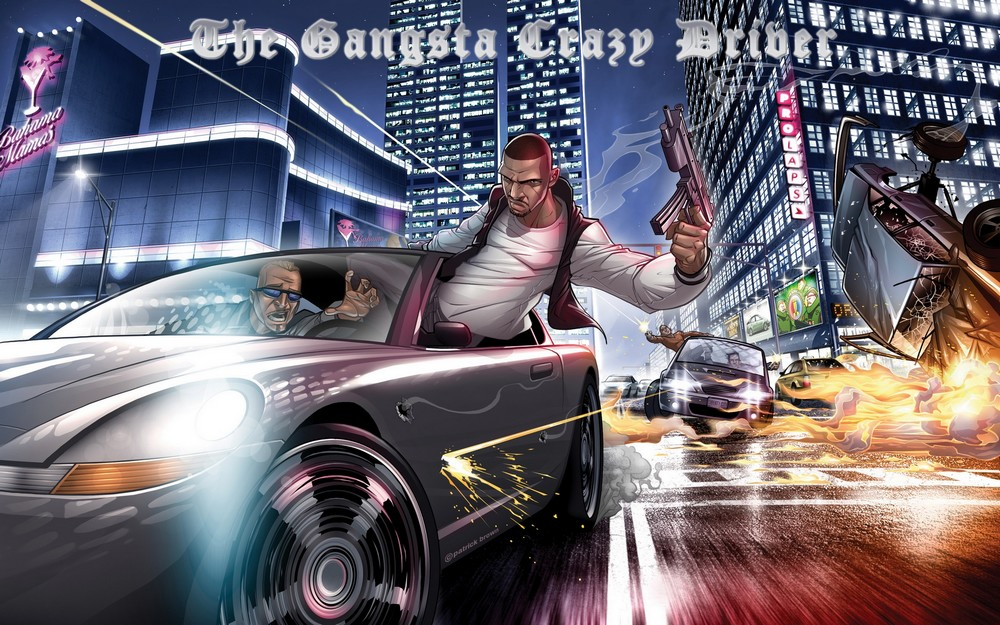 The Gangsta Crazy Driver  Index du Forum