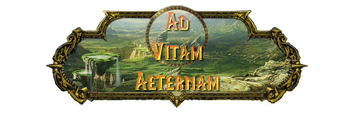 serveur de la guilde ad vitam aeternam. Index du Forum