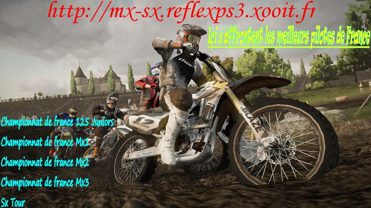 championnat en ligne sx-mx reflex sur ps3 Index du Forum