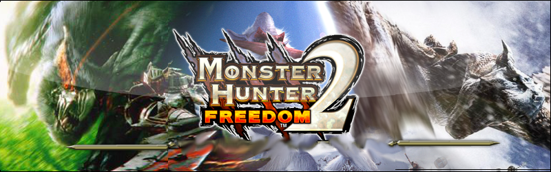 Monster Hunter Freedom 1,2&2G Index du Forum