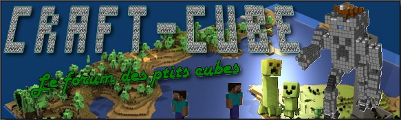 craft & cube  Index du Forum