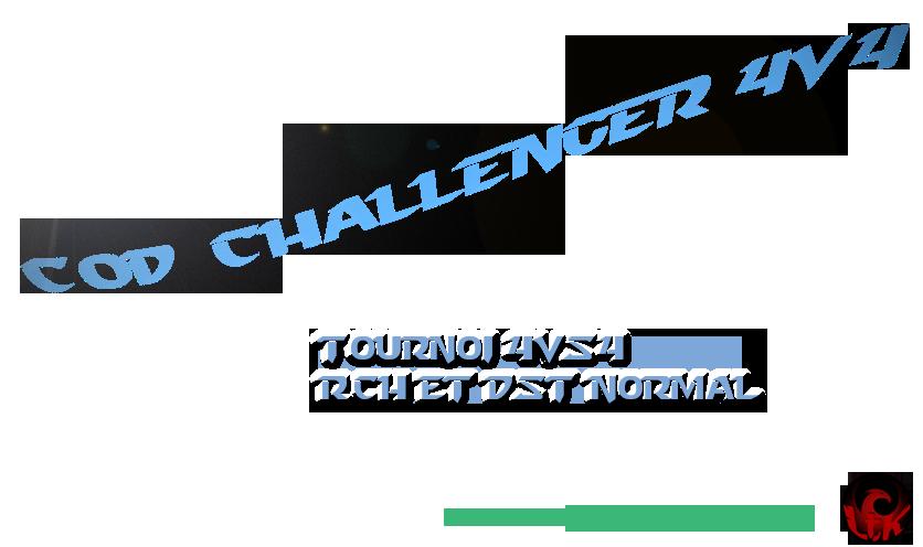 CoD Challenger 4v4 Index du Forum