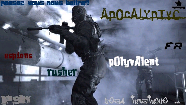 ApOcAlYpTyC team Index du Forum