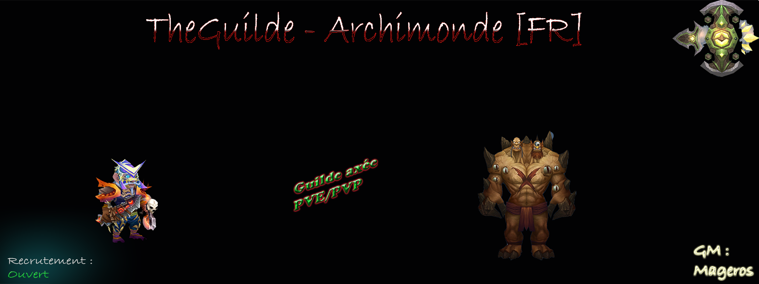 TheGuilde Index du Forum