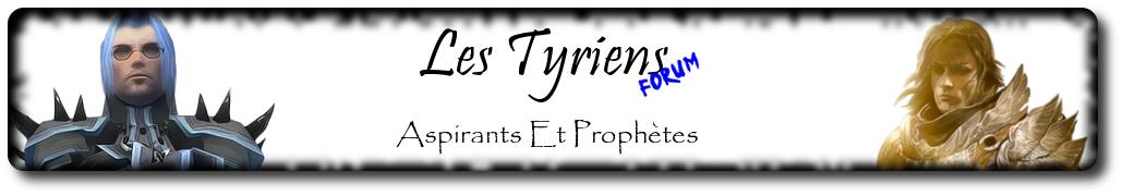 les prophetes tyriens Index du Forum
