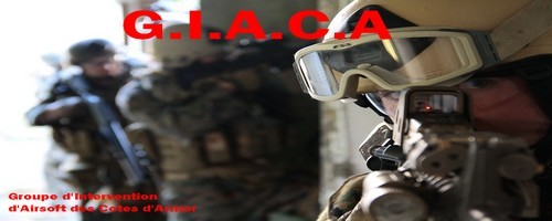 G.I.A.C.A  Groupe d'Intervention d'Airsoft des Cotes d'Armor Index du Forum