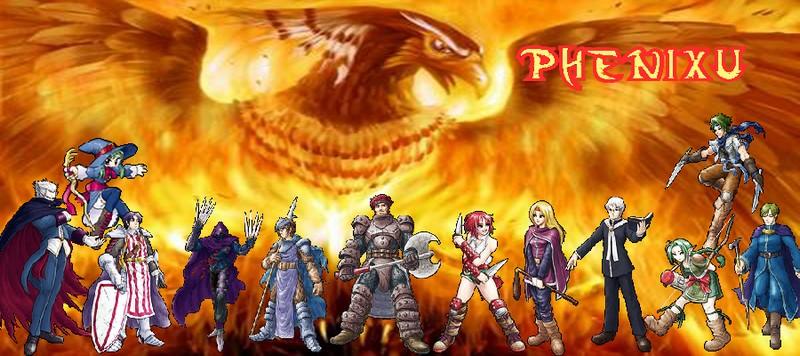 Le forum officiel de Phenixu Index du Forum