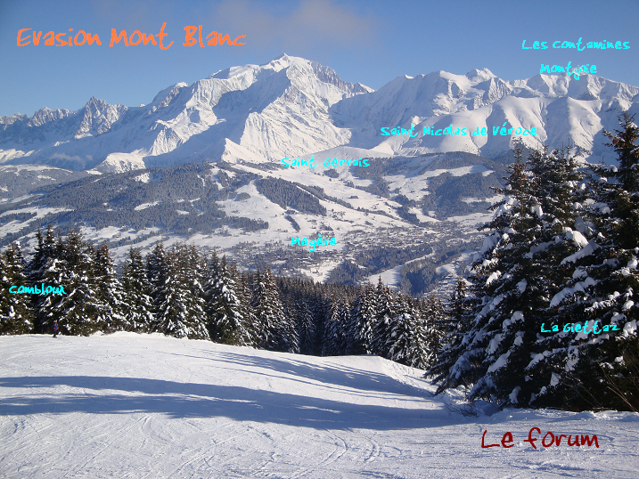 Le domaine Evasion Mont-Blanc Forum Index
