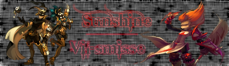 guilde sunshine Index du Forum