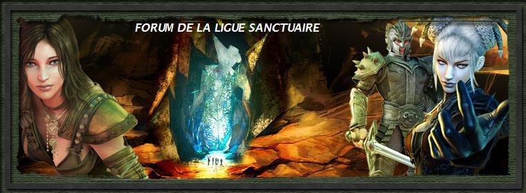 FORUM DE LA LIGUE SANCTUAIRE Index du Forum