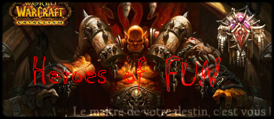 Guilde Heroes of Fun Index du Forum