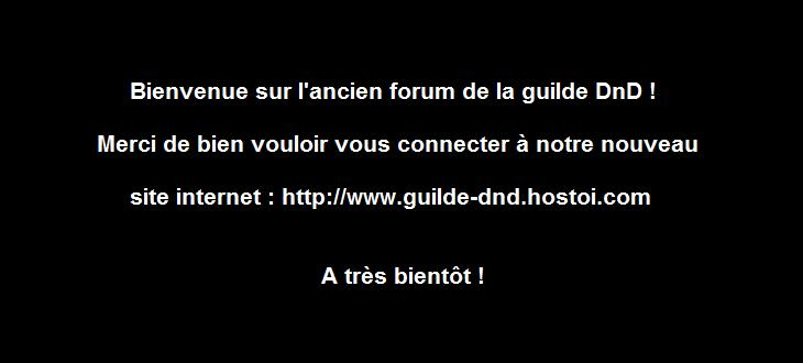 DND Index du Forum