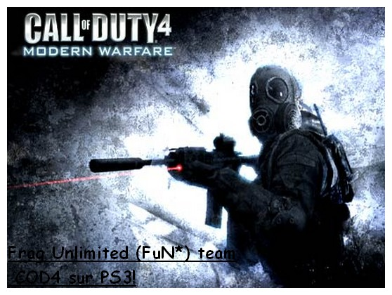 frag unlimited team COD4 Index du Forum