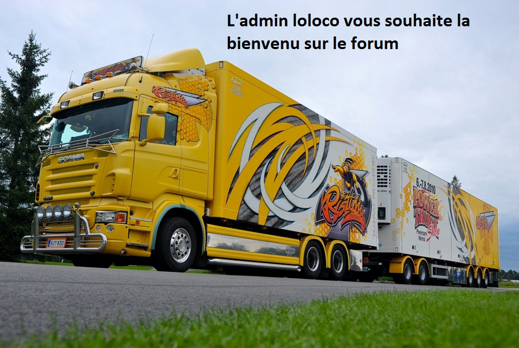 la passion du camion Index du Forum