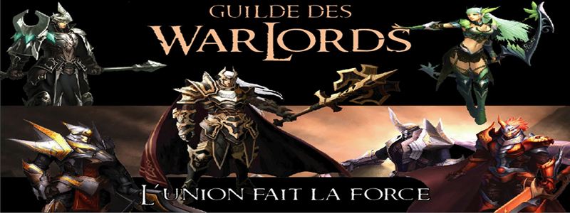 Guilde des Warlords Index du Forum