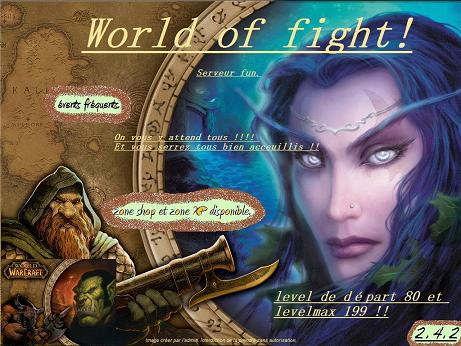 WorLD Of PlaY AnD FiGhT Index du Forum