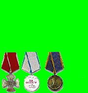 3 Médailles