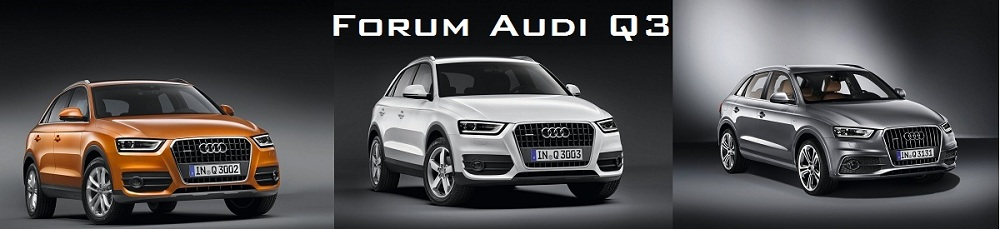 Forum Audi Q3 Index du Forum