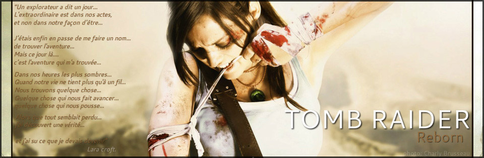 Tomb Raider Spirit Index du Forum