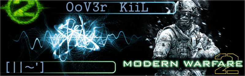 team OoV3r sur Modern Warfar 2 Index du Forum