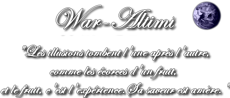 War-Altimi Forum Index