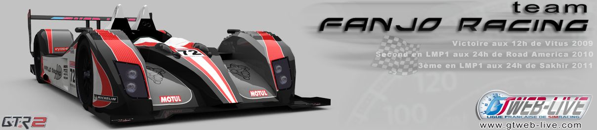 Team Fanjo Racing Index du Forum