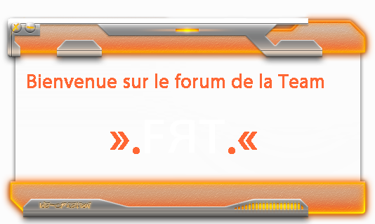 Team FRT Index du Forum