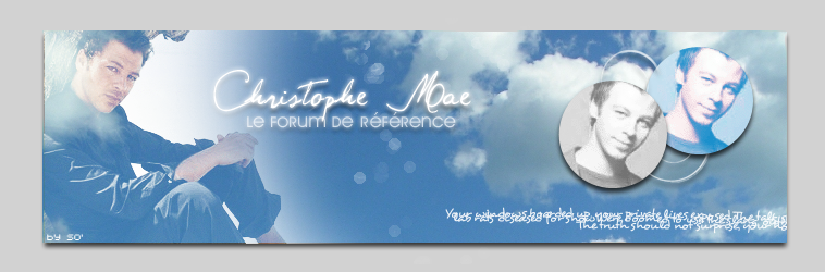 Christophe Mae Forum Index