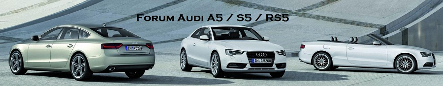 Forum Audi A5 / S5 / RS5 Index du Forum