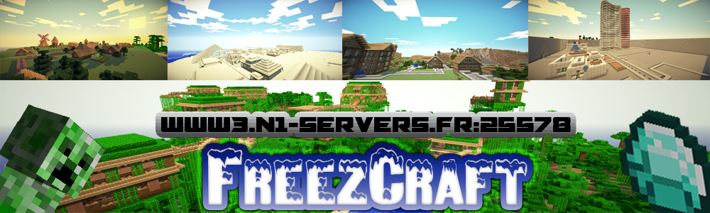 FreezCraft Index du Forum