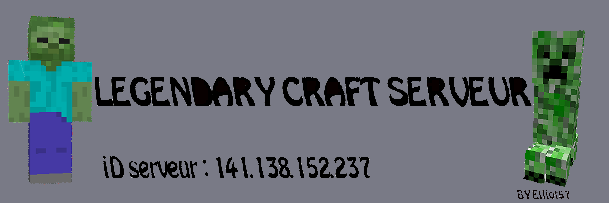 legendary craft Index du Forum