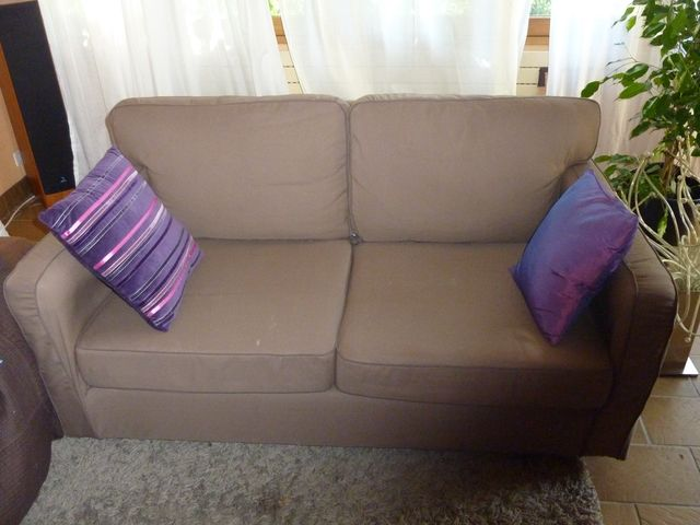 les f es tisseuses et de deux canap s neufs enfin presque. Black Bedroom Furniture Sets. Home Design Ideas
