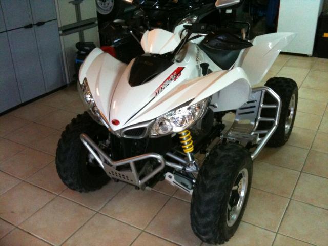 quad kymco 250 mxu vitesse max
