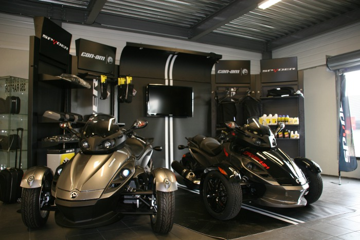 Spyder attitude concessionnaire can am amiens 80 for Quadyland amiens
