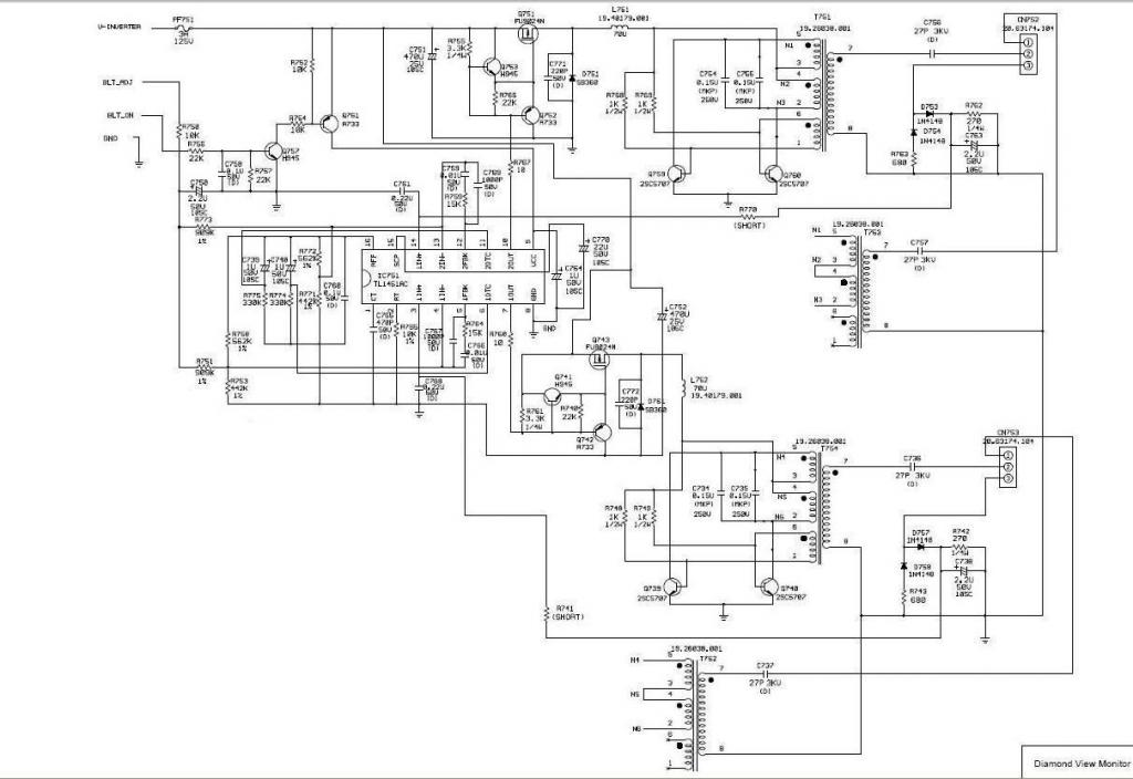 schema inverter per lcd