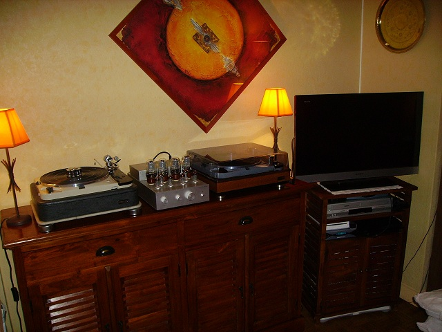 thorens idler 124 mki 124 mkii sur ampli de diafan. Black Bedroom Furniture Sets. Home Design Ideas