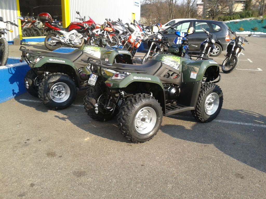 quad kymco green line 400
