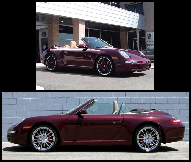 Importer auto et sportive de luxe codes couleur for Porsche 996 interieur