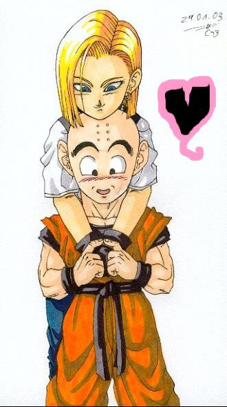 Mangas en tout genre couple dragon ball z - Dragon ball z c18 ...
