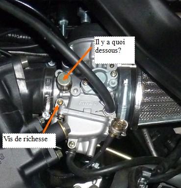 Chinese quad spy 350f1 proto racer by dj momo c ki - Vis de richesse carburateur ...
