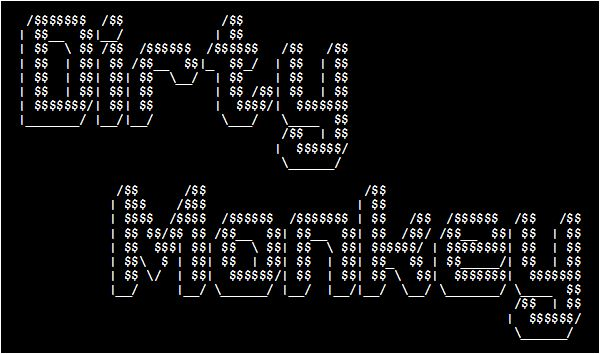 One Line Ascii Art Dirty : Dirty monkey ascii art
