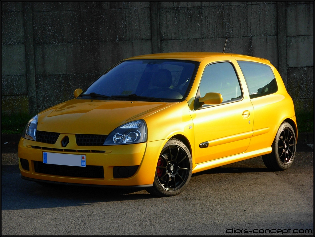 ma clio rs 2004 cs jaune sirius page 60 clio rs concept. Black Bedroom Furniture Sets. Home Design Ideas