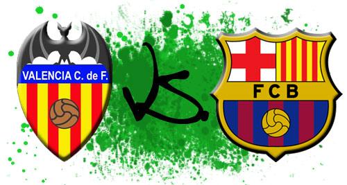 Valence CF - Barcelone