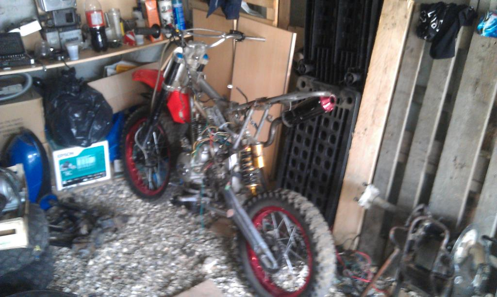 Chinese quad pitbike 200 ou 250 for Vider son garage