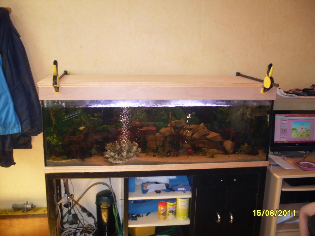 couvercle aquarium