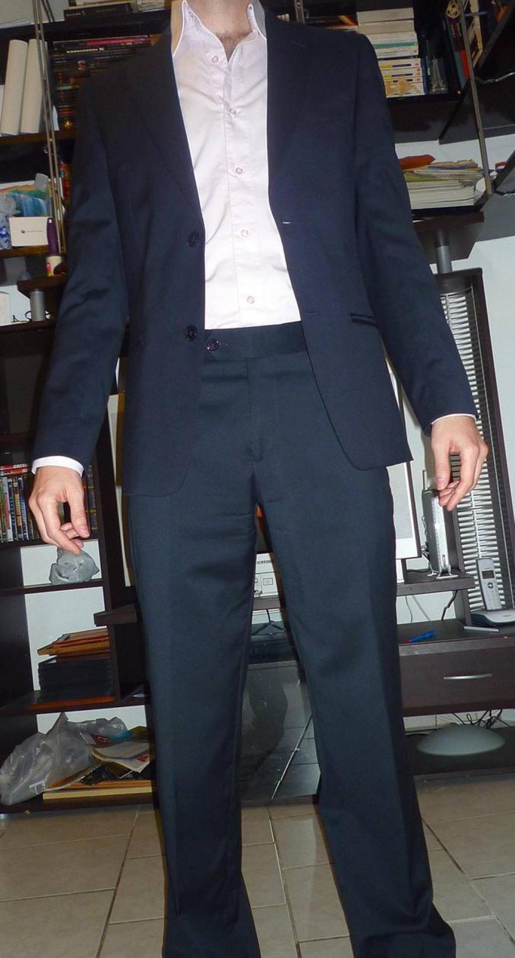 Depiedencap    Costume sans ceinture   9d6b6d3492a