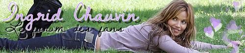 Forum des fans d'Ingrid Chauvin