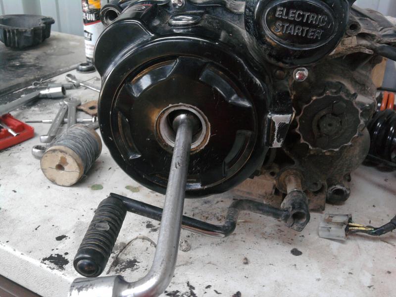 Reglage soupape moteur quad